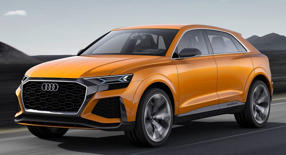 Audi Rs Q8 Coming As A Teutonic Version Of The Lambo Urus