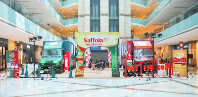 Saffola Masala Oats #BreakUpWithJunk Food Truck Challenge