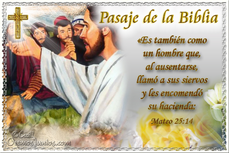 Vidas Santas Santo Evangelio Según San Mateo 25 14