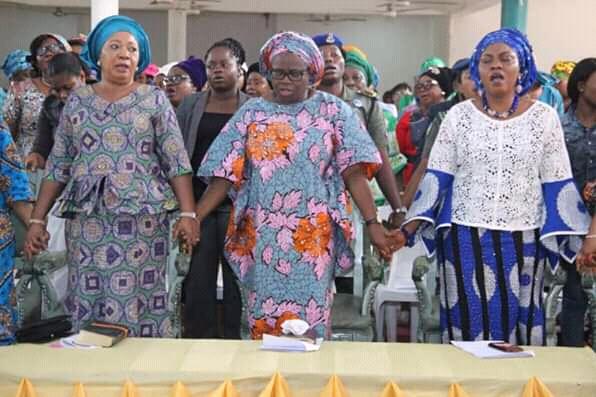Abia women pray for @GovernorIkpeazu's landslide victory