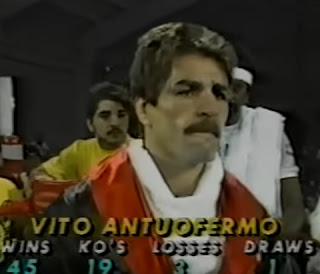 Vito Antuofermo won the European light-middleweight title in 1976 and became world middleweight champion in 1979