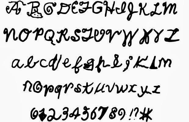 Cool Handwriting Fonts : Hand Writing