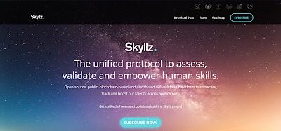 skyllz بروتوكول موحد لتقييم والتحقق من صحة وتمكين المهارات البشرية.
