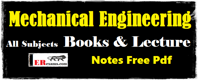 Pdf Books For Mechanical Engineering