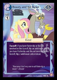 MLP Beauty and the Beast Absolute Discord CCG Card
