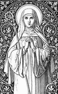 sveta Matilda - redovnica, mistkinja in mučenka