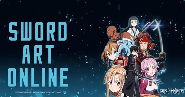 Sword Art Online - Anime Buatan Studio A-1 Pictures Terbaik