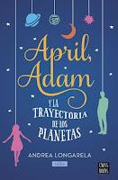 April y Adam y la trayectoria de los planetas