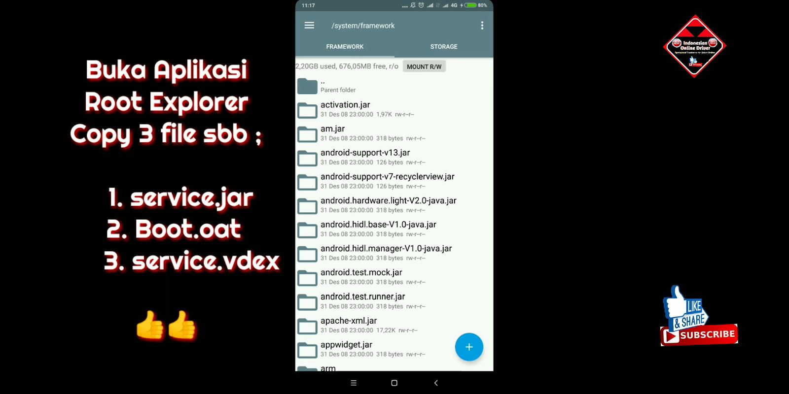Cara Membuat Smali pada Android Oreo 8 0