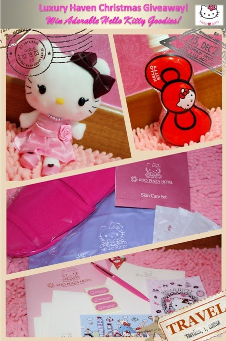 cute hello kitty christmas giveaway luxury haven