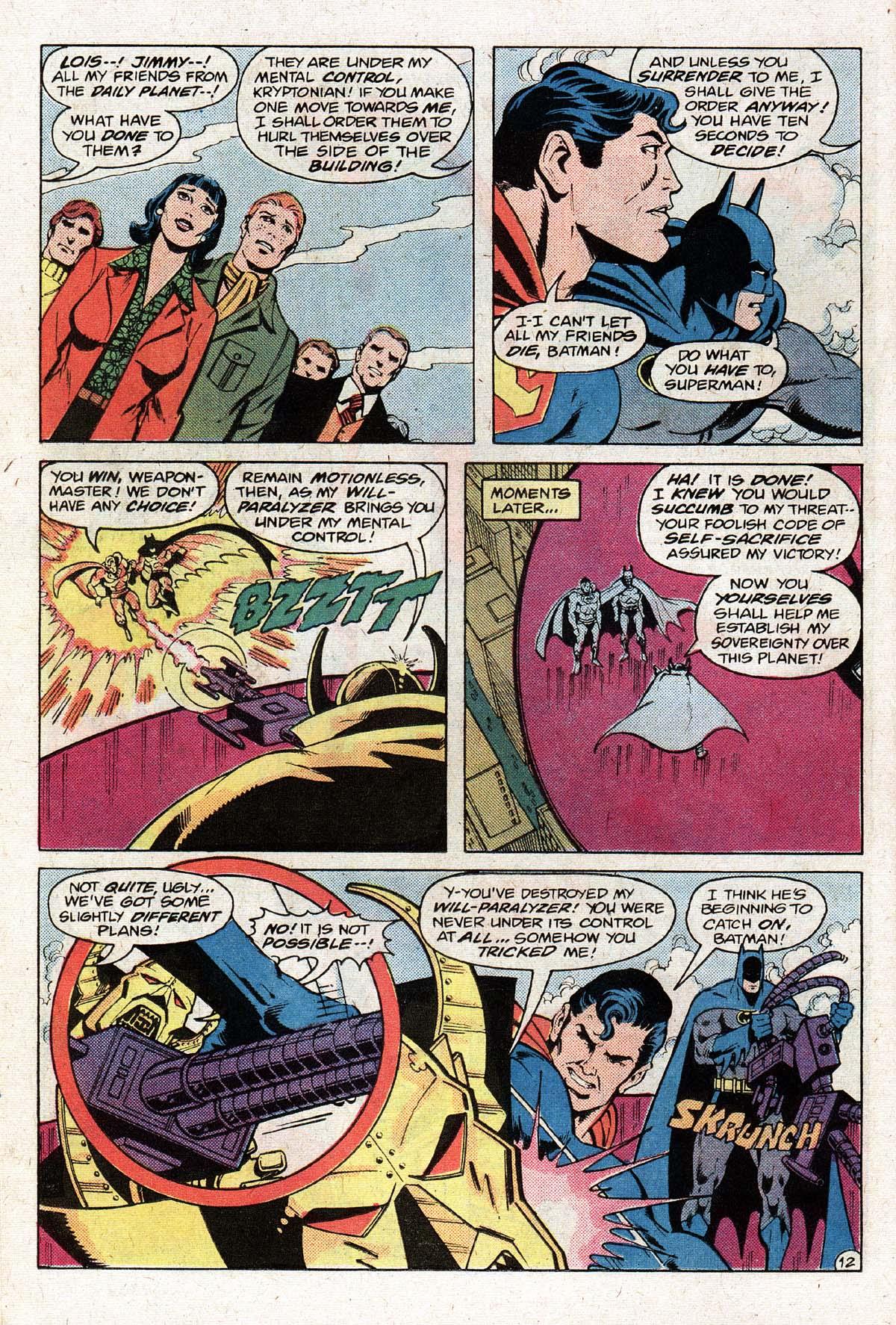 Read online World's Finest Comics comic -  Issue #274 - 14
