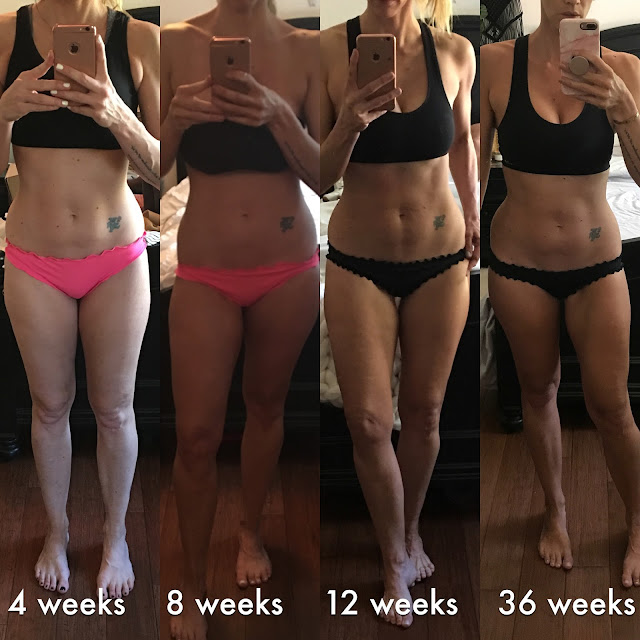 parlor girl BBG 36 week results fitness transformation