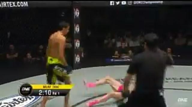 ALAVERDI RAMAZANOV (Russia)  def. ANDREW MILLER (Scotland) by First Round KO.
