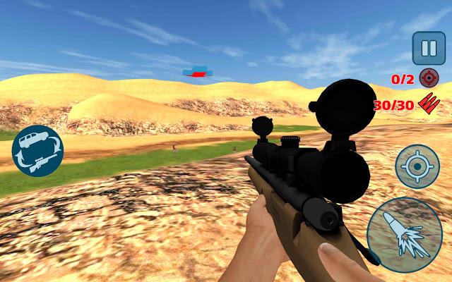 4x4 offroad sniper hunter apk indir