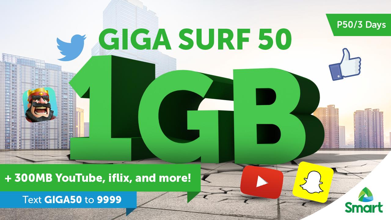 Smart GigaSurf 50
