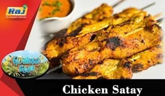 Chicken Satay | Food Segment | Pengal Neram | 14 August 2018 | Raj Tv