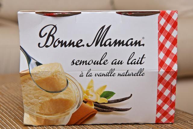 Semoule au lait à la vanille naturelle Bonne Maman - Dessert - Food - Bonne Maman