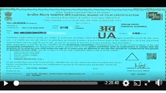 sanju full movie in youtube