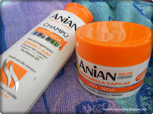 Sampon si masca de par Anian Smooth and silky review ~ Sun after Storm