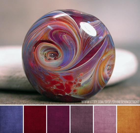 Art bead scene blog art bead palette divine spark designs - Jewel tones color wheel ...