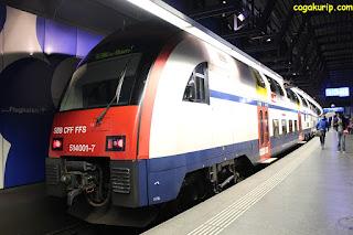 Kereta di Swiss