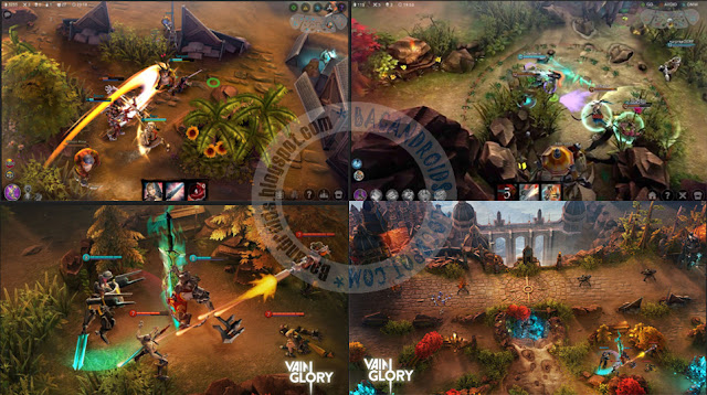 Game Vainglory v1.23.1 APK Dta Obb Full For Android terbaru MOBA Esport Games