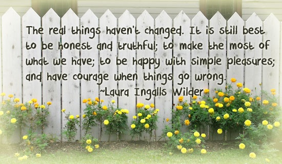 Enjoying Simple Things Life Quotes