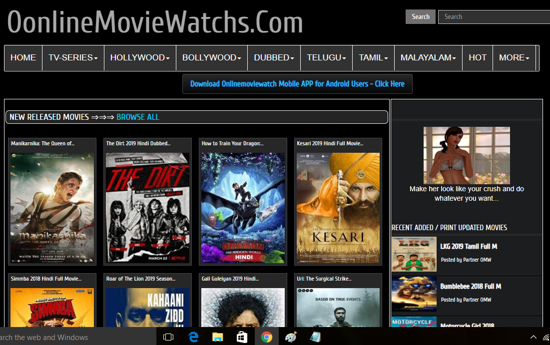 top downloading sites for bollywood movies
