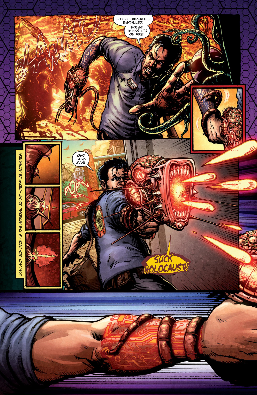 Read online Ballistic (2013) comic -  Issue #1 - 11