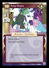 My Little Pony Pony Charm The Crystal Games CCG Card