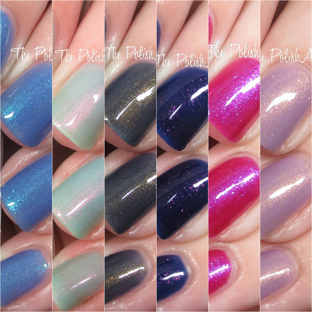 The PolishAholic: ILNP Summer Shimmer 2016 Collection Swatches & Review