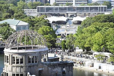 Há 72 anos a bomba atômica atingiu Hiroshima e apagou o local do mapa.