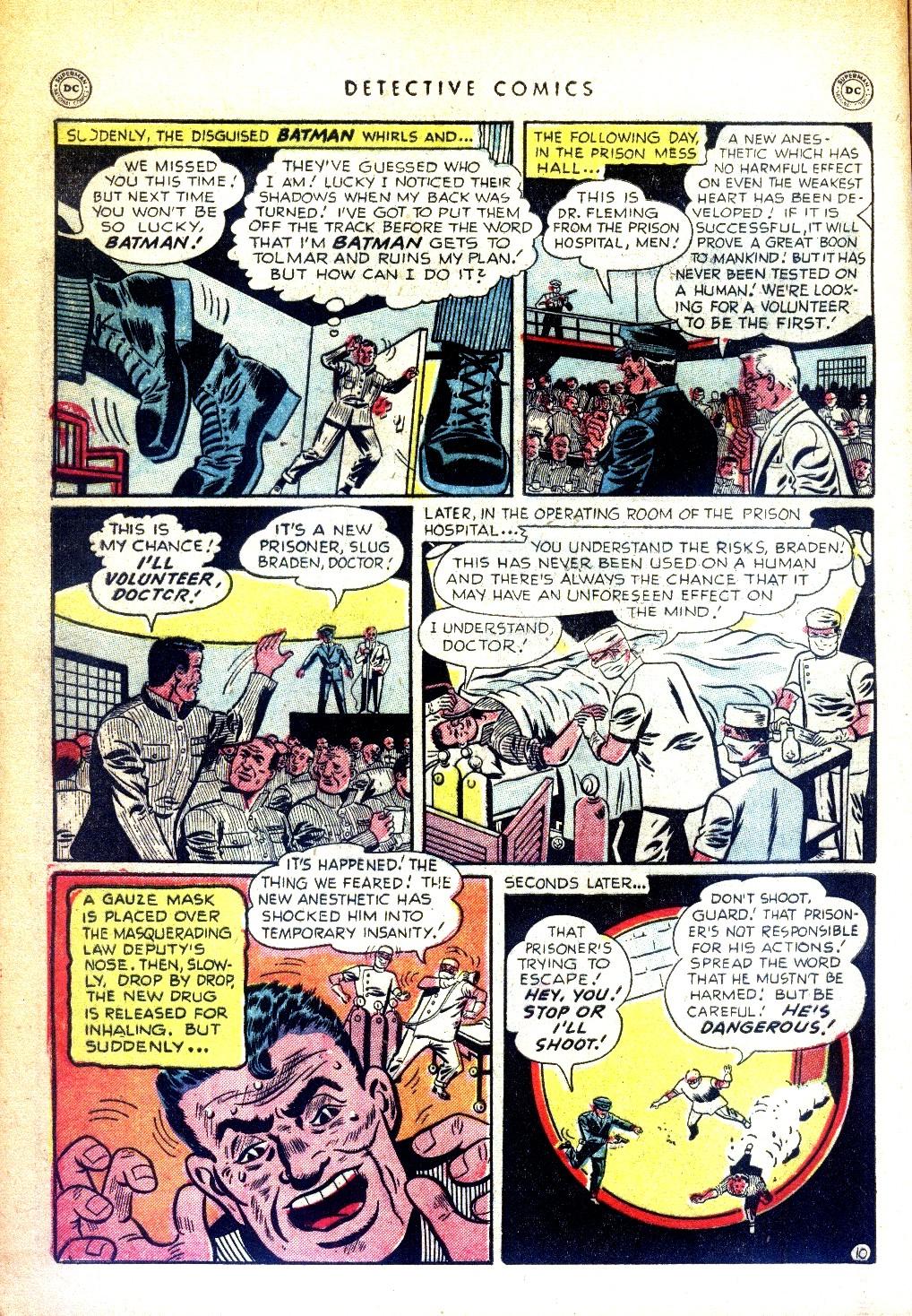 Read online Detective Comics (1937) comic -  Issue #169 - 12