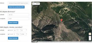 Galerie ummite selon l'Oncle Dom - Localisation sur Google Maps