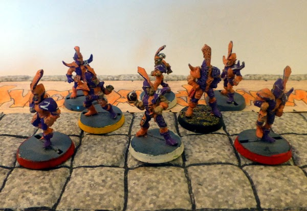 Bloodbowl 2nd ed Underdark Dynamos just the dark elves