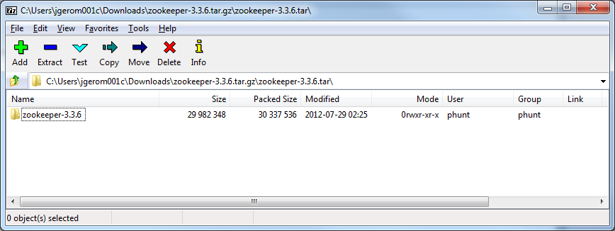 Techie Jackie Blogs: How to extract Zookeeper TAR GZ file in