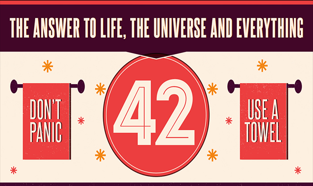 Life, the Universe, & Everything – Towel Day