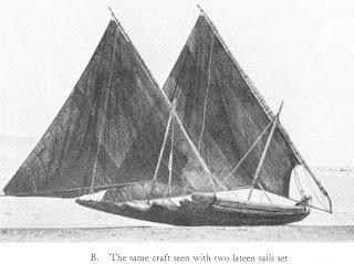rig details of a Coromandel Coast flying fish catamaran