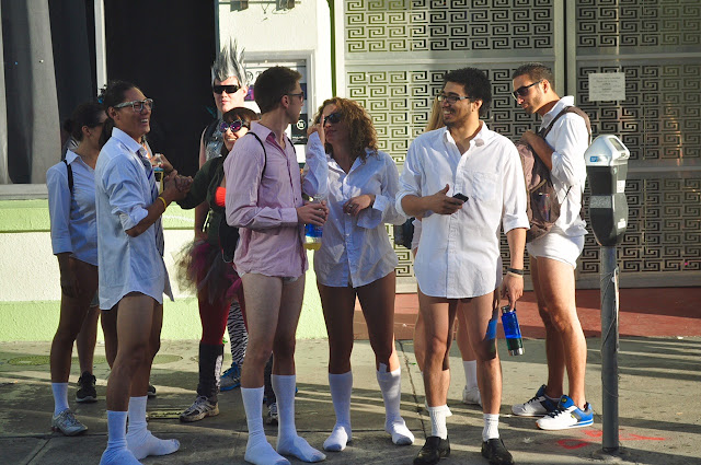 American men in underwear Bay to Breakers San Francisco