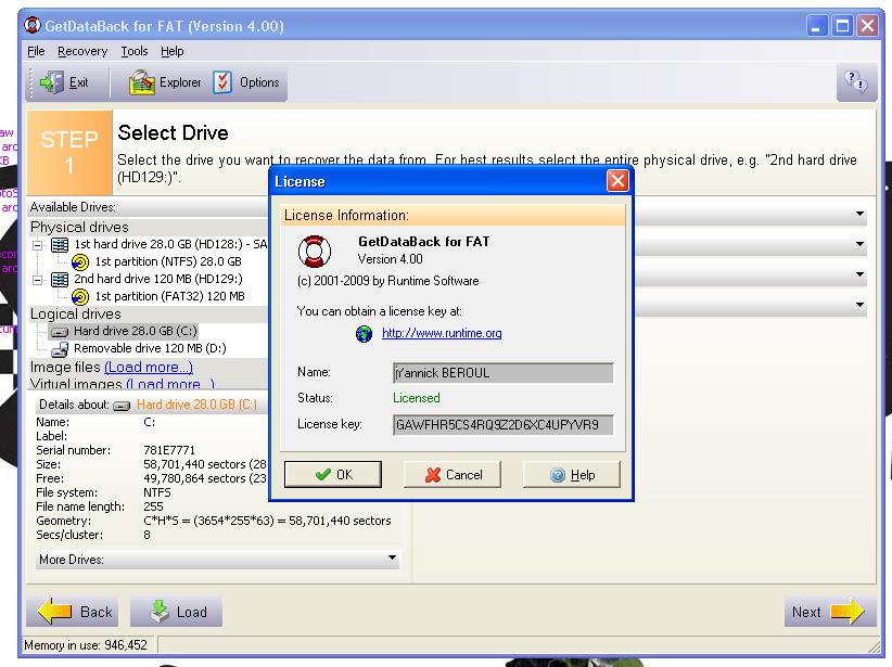 getdataback license key Archives