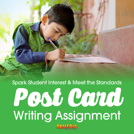End-of-Year Post Card Writing Assessment