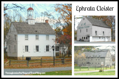 Historic Ephrata Cloister in Ephrata Pennsylvania