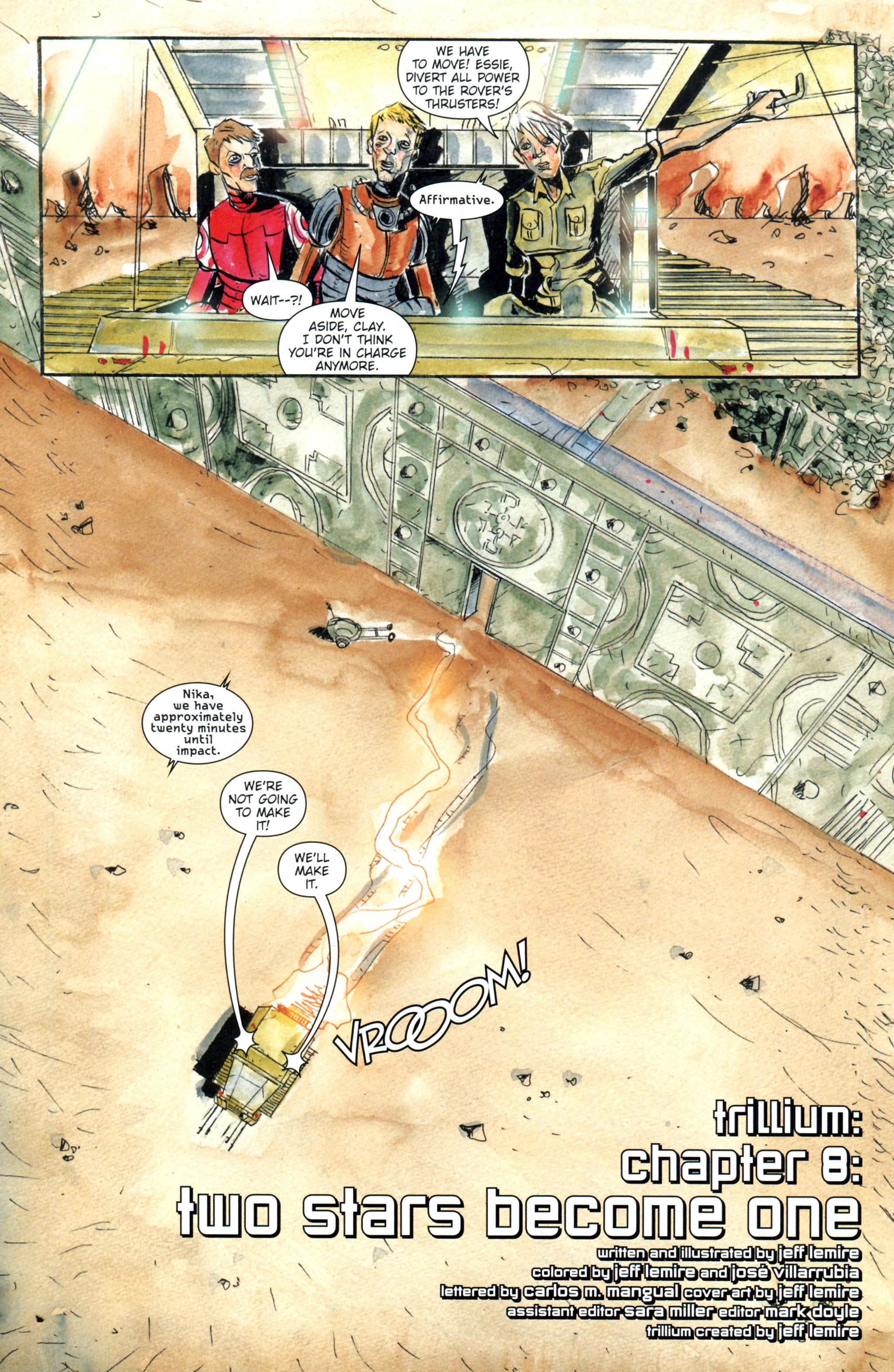 Read online Trillium comic -  Issue #8 - 4