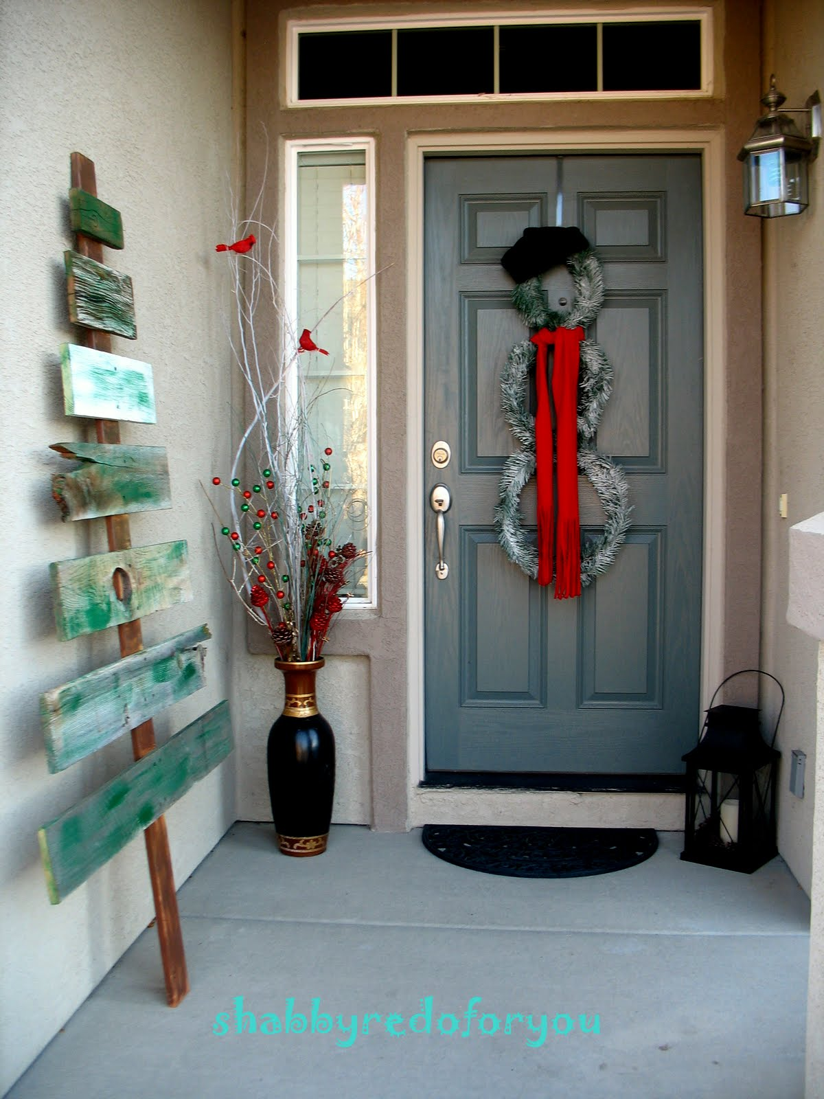 Pinterest Christmas Door Decorations Photograph | ... Redo F