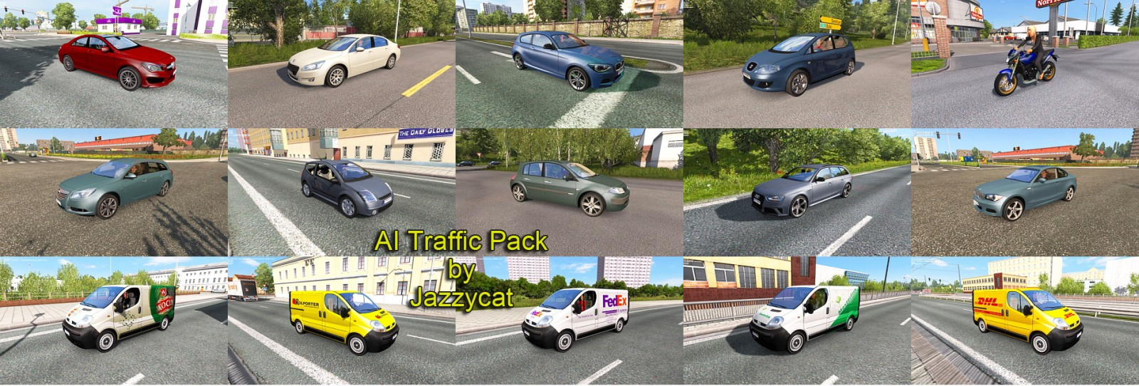 AI Traffic Pack 2.7 by Jazzycat