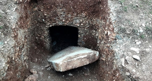 Ancient burial chamber in Turkey's Adıyaman looted