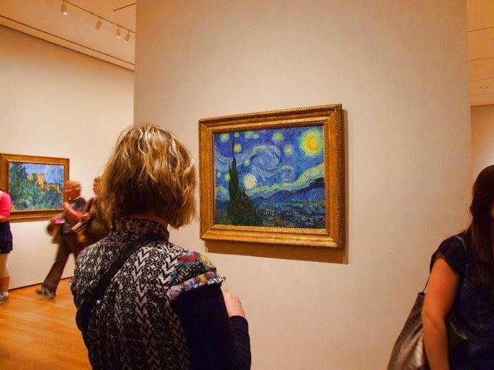 Matemáticas inesperadas en La Noche Estrellada. U.D.I. El Universo de Van Gogh.