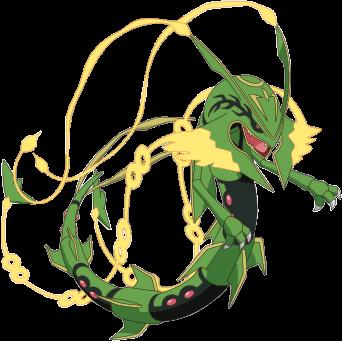 Mega Rayquaza Plus Monster Dex