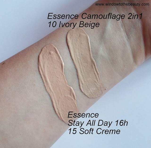 essence soft creme  ivory beige swatches