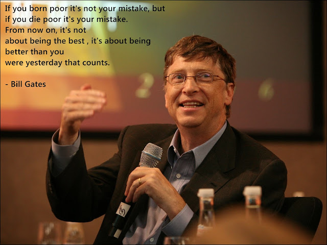 Quote of Bill gates